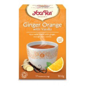 Τζίντζερ Πορτοκάλι Γιόγκι Τσάι - House Of Spices Μπαχαρικά Βότανα Τσάι