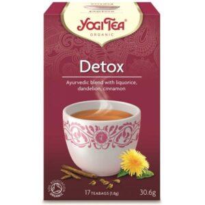 Τσάι Αποτοξίνωσης Γιόγκι - House Of Spices Μπαχαρικά Βότανα Τσάι