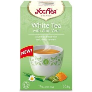Λευκό Τσάι Με Αλόη Γιόγκι - House Of Spices Μπαχαρικά Βότανα Τσάι