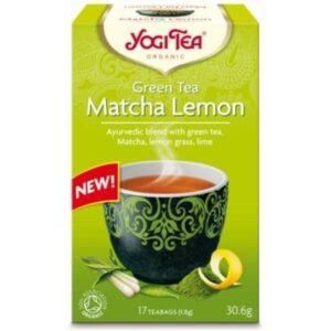 Τσάι Μάτσα Λεμόνι Γιόγκι - House Of Spices Μπαχαρικά Βότανα Τσάι