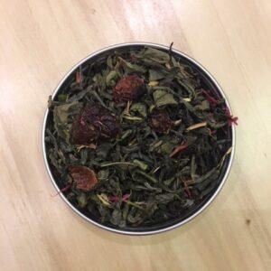 Πράσινο Τσάι Φράουλα - House Of Spices Μπαχαρικά Βότανα Τσάι