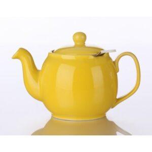 Τσαγιέρα Κίτρινη Με Φίλτρο - House Of Spices Μπαχαρικά Βότανα Τσάι
